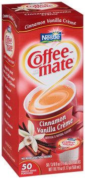 Nestlé Coffee-Mate Cinnamon Vanilla Creme Liquid Coffee Creamer 50-0.37 fl. oz. Cups