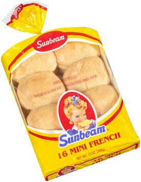 Sunbeam® Mini French Rolls 16 ct Bag