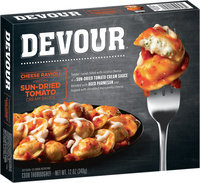Devour Cheese Ravioli with Sun-Dried Tomato Cream Sauce 12 oz. Box