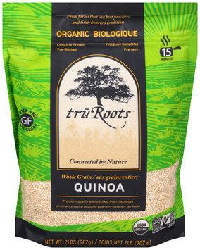 TruRoots™ Organic Whole Grain Quinoa - TruRoots™ Biologique Aux Grains Entiers Quinoa Sac de