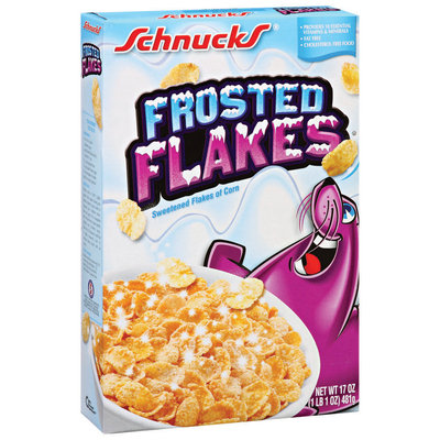 Schnucks  Frosted Flakes 17 Oz Box