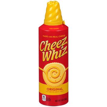 Cheez Whiz Original Cheese Snack 8 oz. Spray Can