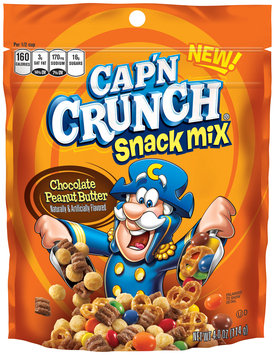 Cap'n Crunch® Chocolate Peanut Butter Snack Mix 4 oz. Pouch