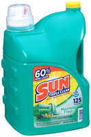 Sun Triple Clean® Mountain Fresh Liquid Laundry Detergent 188 fl. oz. Jug