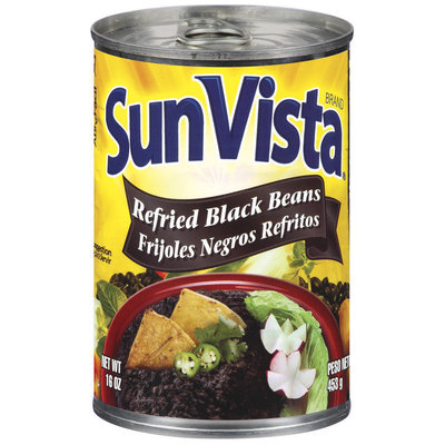 Sun-Vista Refried Black Beans