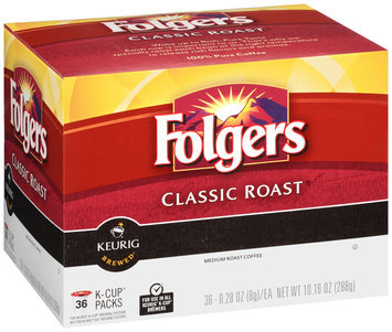 Folgers Classic Roast® Coffee K-Cup® Packs 36 ct Box