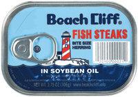 Beach Cliff In Soybean Oil Fish Steaks 3.75 Oz Tin