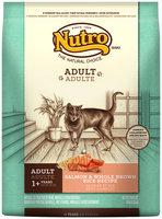 Nutro® Adult Salmon & Whole Brown Rice Recipe Cat Food 14 lb. Bag