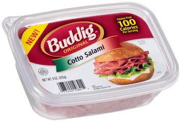 Buddig™ Original Cotto Salami 9 oz. Tub