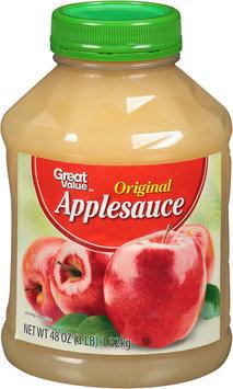 Great Value™ Original Applesauce 48 oz. Jar