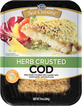 High Liner® Sea Cuisine™ Herb Crusted Cod 10 oz. Tray