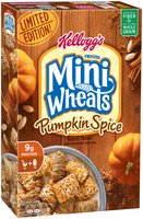 Kellogg's® Frosted Mini-Wheats® Limited Edition Pumpkin Spice Cereal 15.5 oz. Box