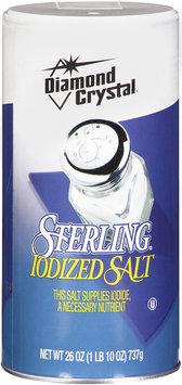 Diamond Crystal® Sterling Iodized Salt 26 oz.