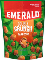 Emerald® Barbecue Double Crunch Seasoned Cracker-Coated Peanuts 8 oz. Bag