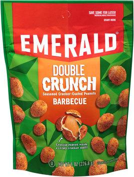 Emerald® Barbecue Double Crunch Seasoned Cracker-Coated Peanuts 8 oz. Bag