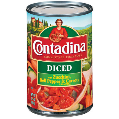 Contadina Diced  Primavera Tomatoes 14.5 oz. Can