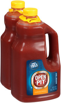 Open Pit® Original Barbecue Sauce 2-76 oz. Pack