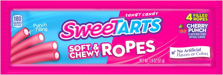 SWEETARTS Soft & Chewy Ropes 1.8 oz. Package
