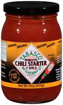 McIlhenny Co. Tabasco® Original 7 Spice Chili Starter 16 oz. Jar