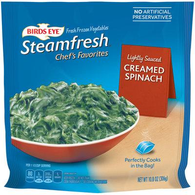 Birds Eye® Steamfresh® Chef's Favorites Creamed Spinach 10.8 oz. Bag