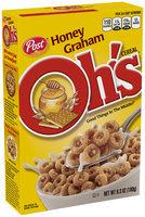 Post® Honey Graham Oh's® Cereal 6.3 oz. Box