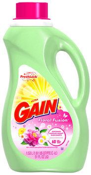 Gain with FreshLock Floral Fusion Liquid Fabric Softener 51 fl. oz. Bottle