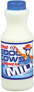 UNITED DAIRY Cool Cows 2% Reduced Fat Milk 16 OZ PLASTIC BOTTLE