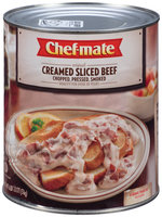 Chef-Mate® Creamed Sliced Beef 6.62 lb. Can