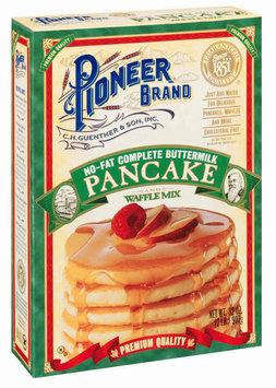 Pioneer Brand Buttermilk Complete No Fat Pancake & Waffle Mix 32 Oz Box