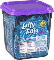 WONKA LAFFY TAFFY Blue Raspberry Candy 145 Pieces 3.08 lb. Tub