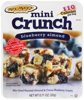 Mrs. May's® Naturals Mini Crunch Blueberry Almond Snacks 0.71 oz. Packet