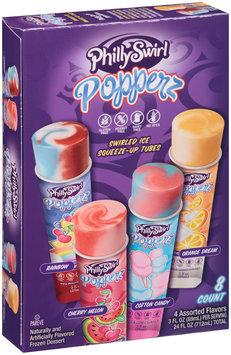 PhillySwirl® Assorted Popperz 8-3 fl oz. Tubes
