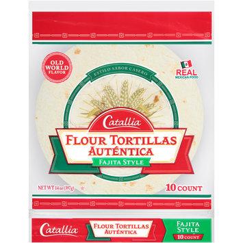 Catallia® Fajita Style Flour Tortillas 14 oz. Bag