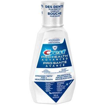 Pro Health Advanced Crest Pro-Health Advanced Extra Whitening Mouthwash, 946 mL