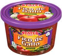 Stater Bros.® Medium Pico de Gallo 16 oz. Tub