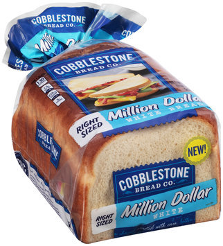 Cobblestone Bread Co.™ Million Dollar White Bread 18 oz. Bag