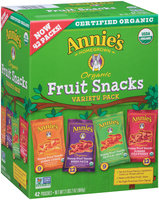 Annie's Homegrown® Organic Bunny Fruit™ Snacks Variety Pack