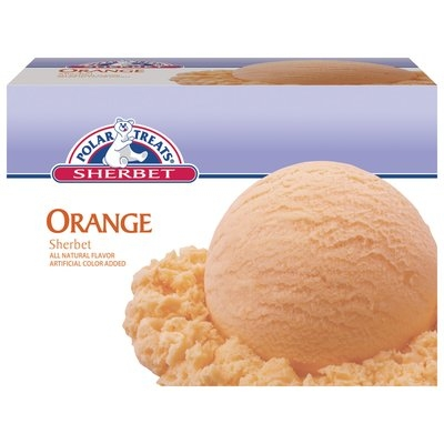 Polar Treats Orange Sherbet