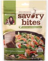Nutrish Savory Bites™ Real Chicken & Veggies Dog Treats