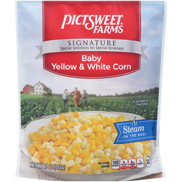 pictsweet® farms signature baby yellow & white corn