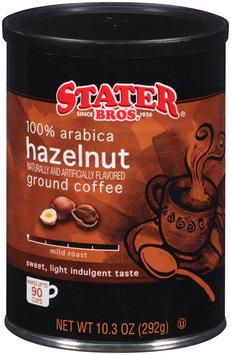 Stater Bros.® Hazelnut Mild Roast Ground Coffee 10.3 oz. Canister