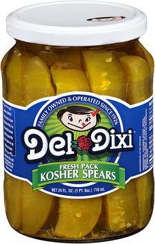 Del-Dixi® Kosher Spears 24 fl. oz. Jar