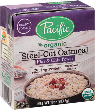 Pacific Organic Flax & Chia Power Steel-Cut Oatmeal