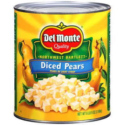 Del Monte® Diced Pears in Light Syrup