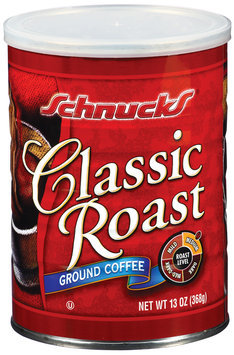 Schnucks Classic Roast Medium Ground Coffee 13 Oz Can