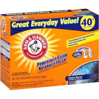 ARM & HAMMER™ Clean Burst Laundry Powder Detergent