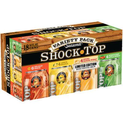 Shock Top® Seasonal Variety Pack Beer 18-16 fl. oz. Cans