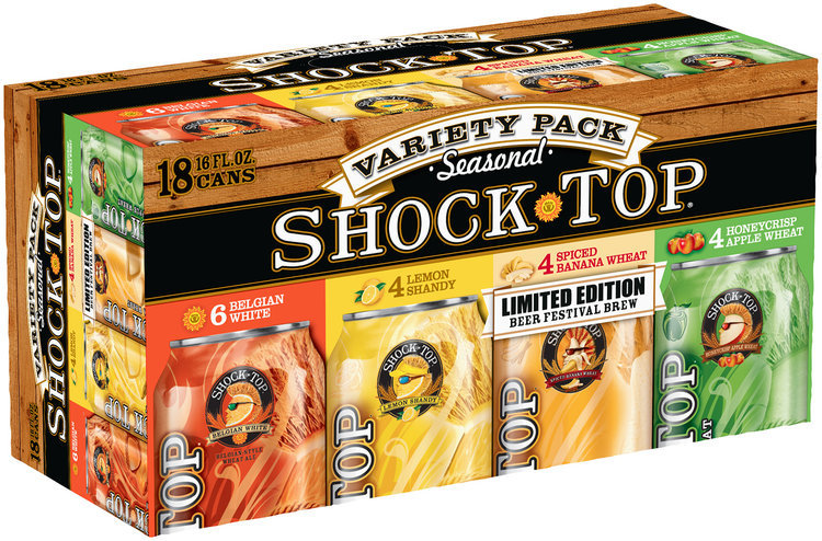 shock top® seasonal variety pack beer 1