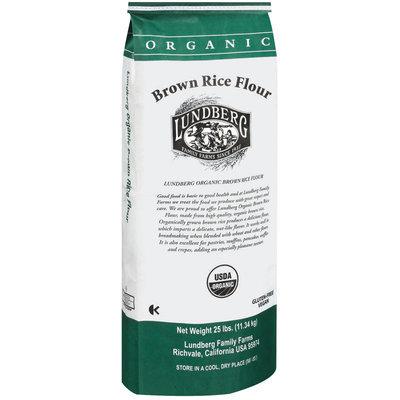 Lundberg Family Farms Og Brown Rice Flour Brown Rice Flour 25 Lb Bag