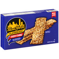 New York York Flatbreads Everything, 5-Ounce Packages (Pack of 12)
